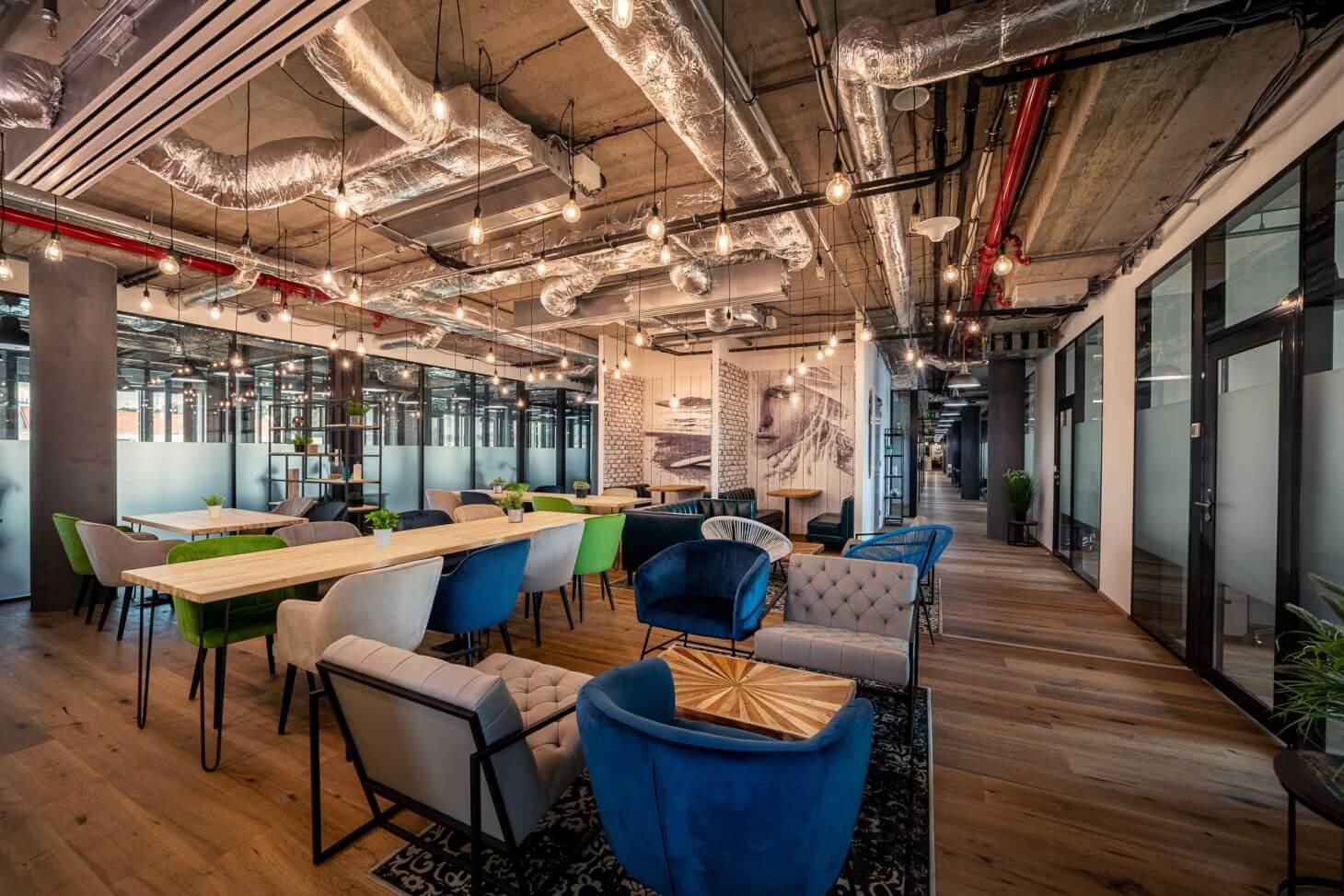 WorkLounge Karlín - Designový coworking a soukromé kanceláře v Praze